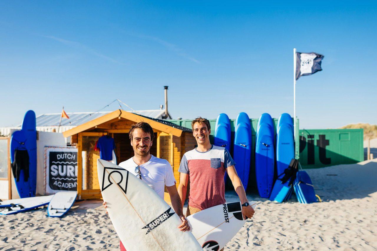 Surfschool Dutch Surf Academy in Nederland