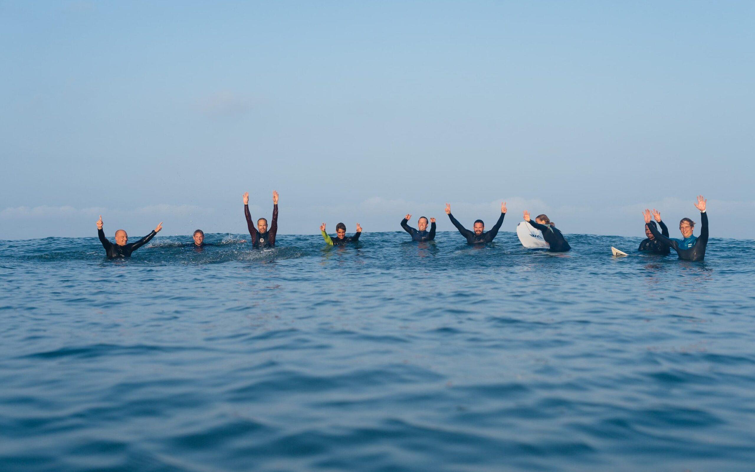 Surfcoachingweken tussen de greenwaves