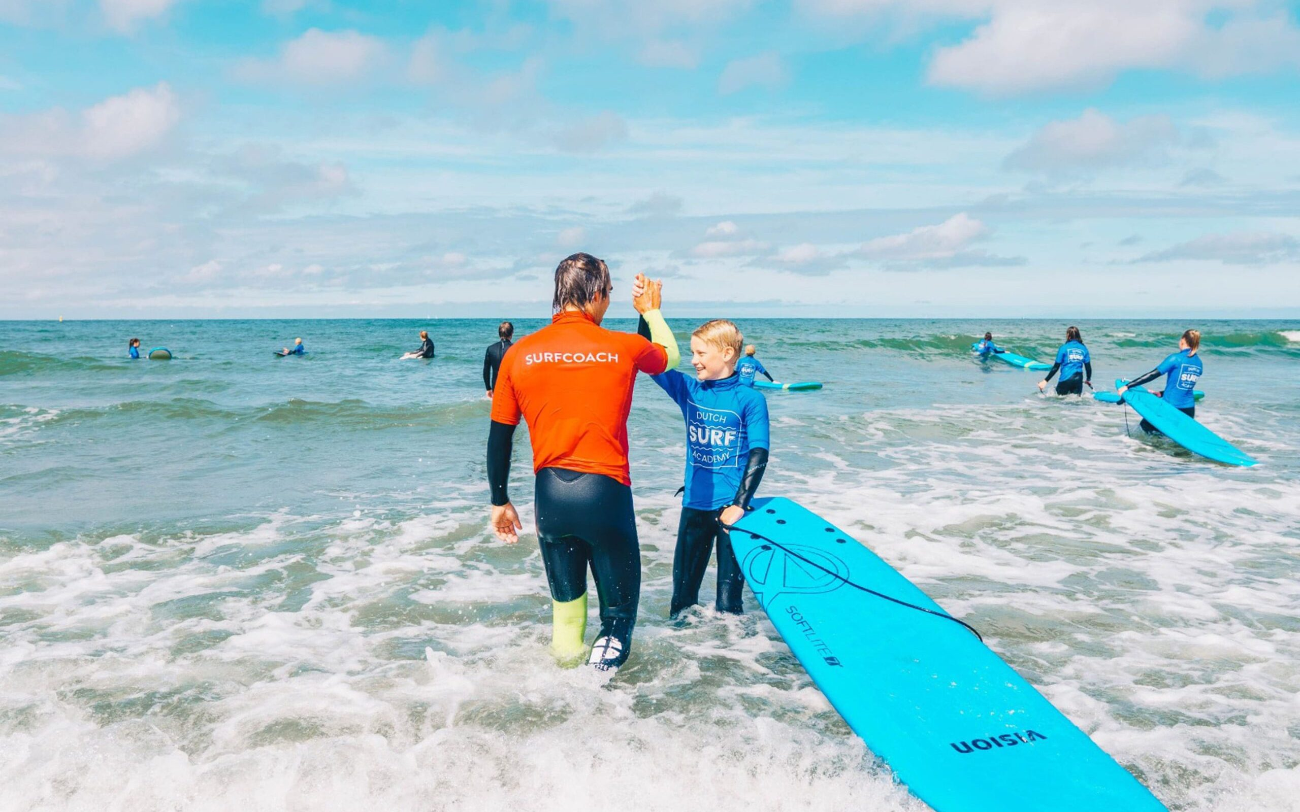 surfcoach highfive surfles