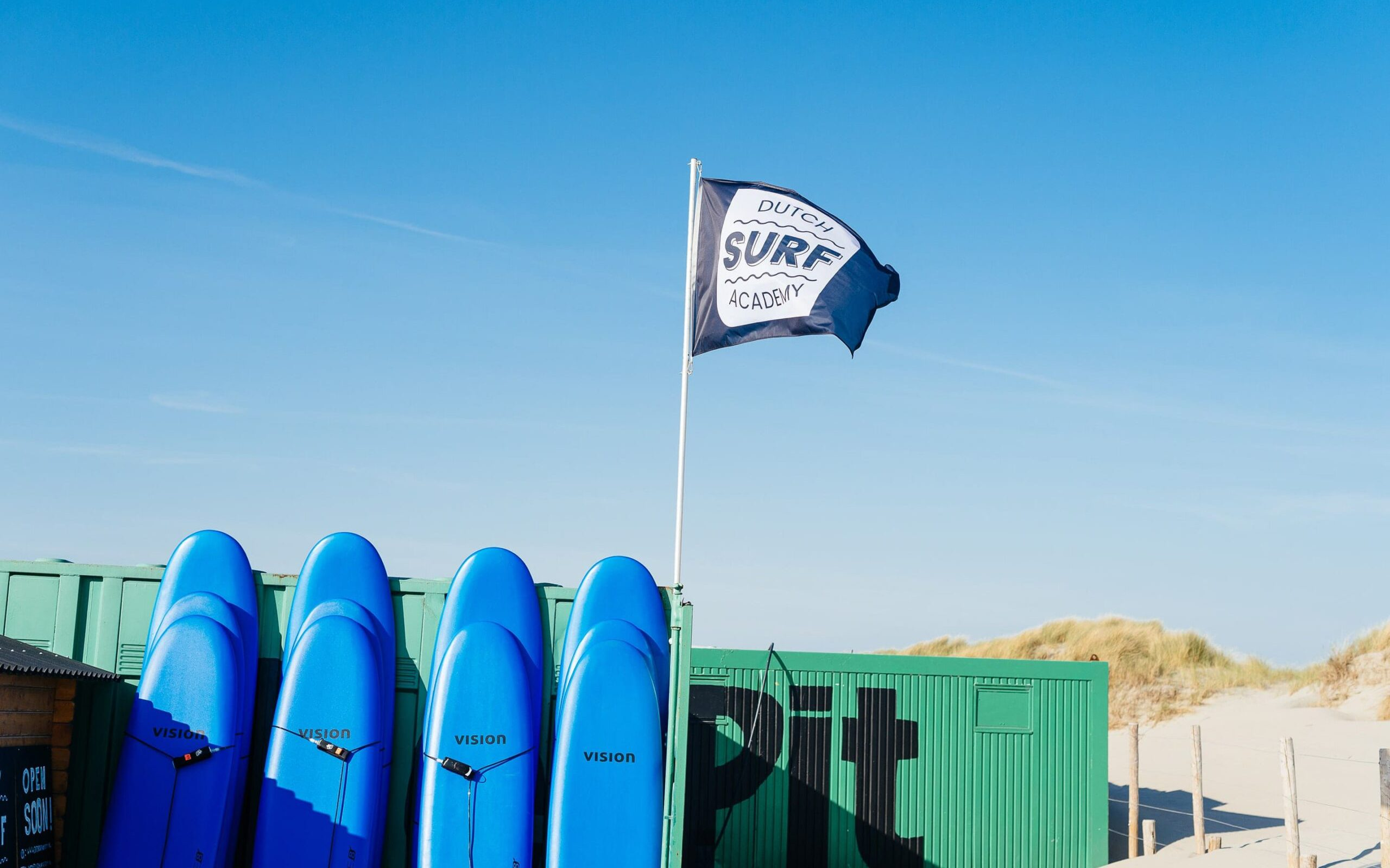 Surfschool surfboard westland